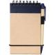 Bloc-notes publicitaire A7 avec stylo carton - Zuse