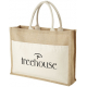 Sac shopping promotionnel en jute - Mumbay