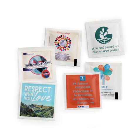 Sachet de graines publicitaire 55 x 55 mm