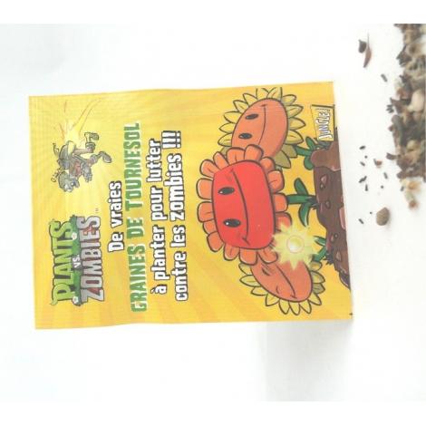 Sachet de graines publicitaire 60 x 80 mm
