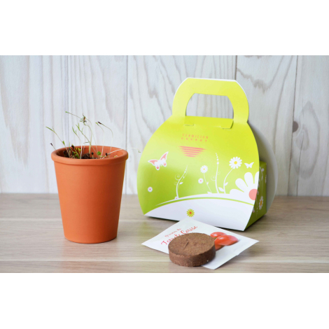 Kit de plantation publicitaire - Mallette