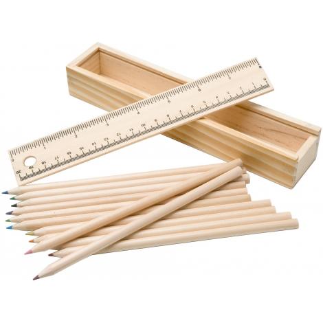 Set de 12 crayons de couleur