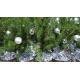 Sapin de Noël avec boules de noël