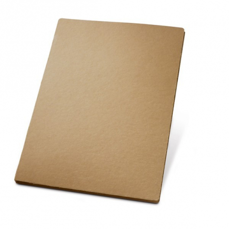 Conférencier A4 en carton recyclé personnalisé