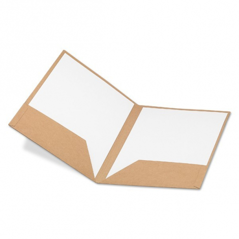 Porte document publicitaire A4 en carton
