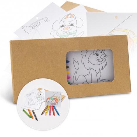 Set de coloriage promotionnel