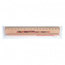 Kit Eco avec crayon de papier 17,6 cm sans gomme
