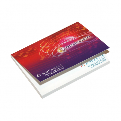 Bloc de notes repositionnables Notestix avec couverture