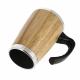 Mug publicitaire isotherme en bambou 330 ml - BATCH