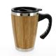 Mug publicitaire isotherme en bambou - BATCH