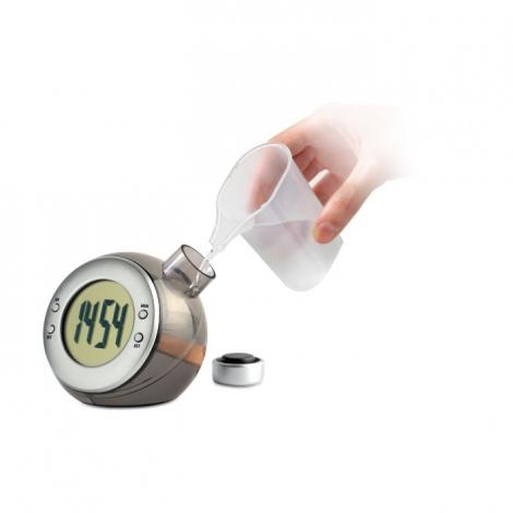 Horloge à eau publicitaire - Droppy