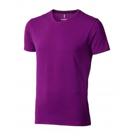 T-shirt homme Col V en coton bio - KAWARTHA