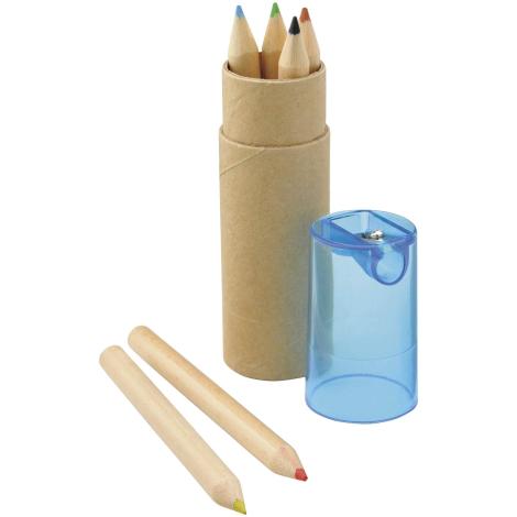 Set promotionnel de 6 crayons de couleurs