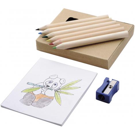 Set coloriage publicitaire - 8 pièces