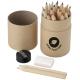 Boîte promotionnelle de 24 crayons de couleur - bois