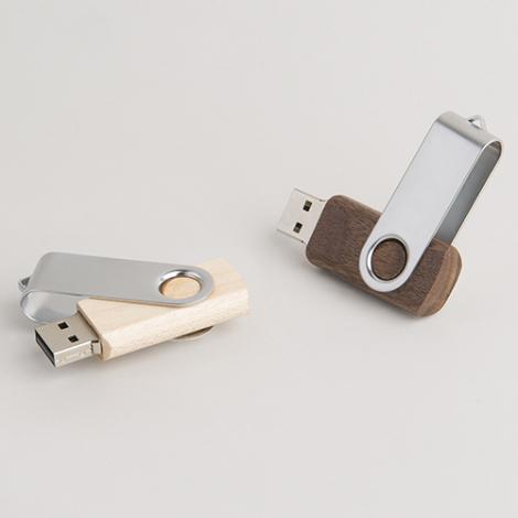 Clé USB personnalisable - Twister Wood