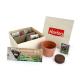 Kit de plantation publicitaire - coffret aromatique bois