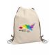 Sac à dos gym bag publicitaire en coton 160 gr - Gaya