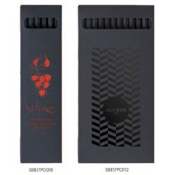 Etuis crayons de couleurs black 17.6cm