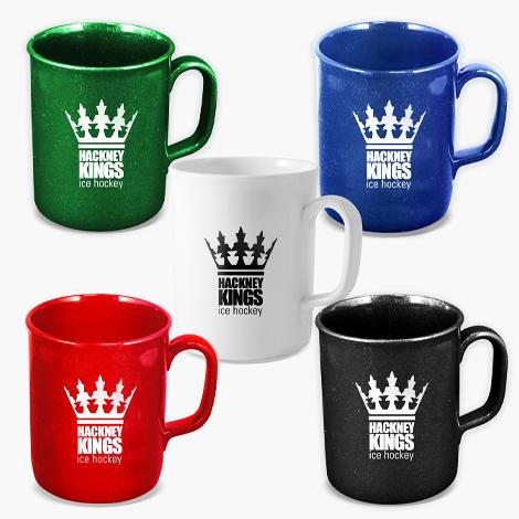 Mug publicitaire en plastique recyclé 275 ml - Theo