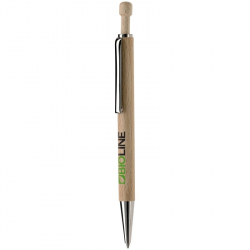 Stylo bille ECO en bois naturel