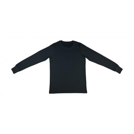 T-shirt publicitaire manches longues bio homme 155 g - Jim