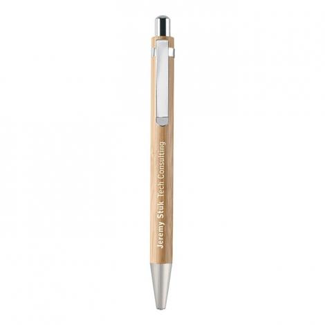 Coffret stylo publicitaire - Bambooset