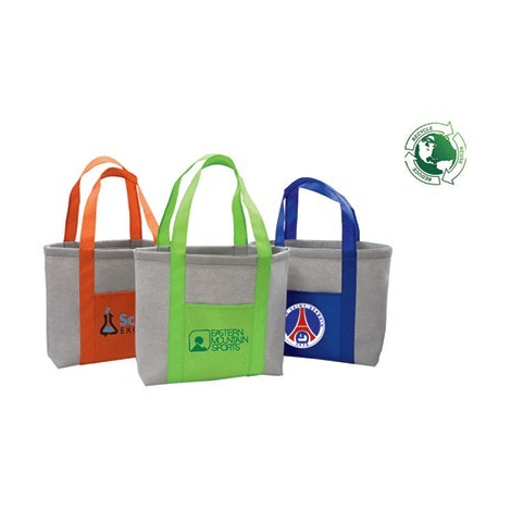 Sac cabas publicitaire recyclé avec poche - URBAN BAG