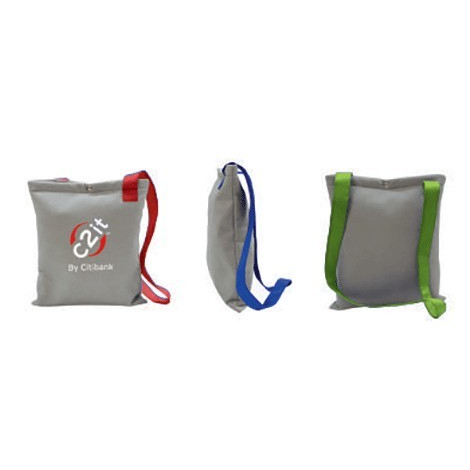 Sac publicitaire recyclable pour salons - URBAN BAG