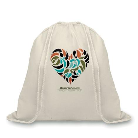 Sac à dos Gym Bag publicitaire en coton 105 grs