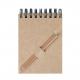 Bloc-notes A7 spirale avec crayon