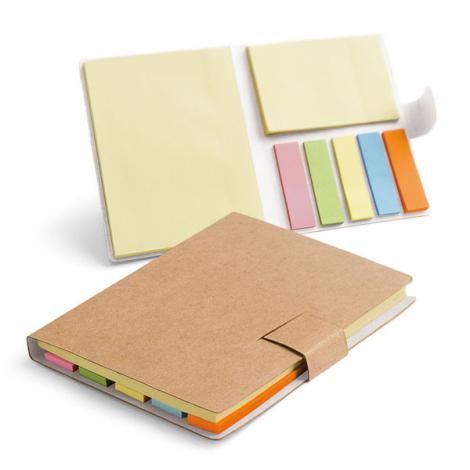 Notes repositionnables en carton recyclé