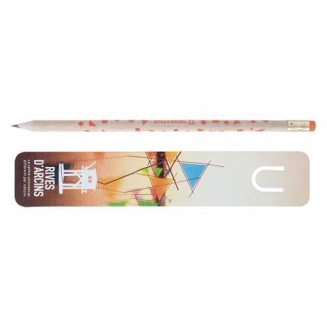 Kit marque-page Eco vernis incolore - 17,6 cm