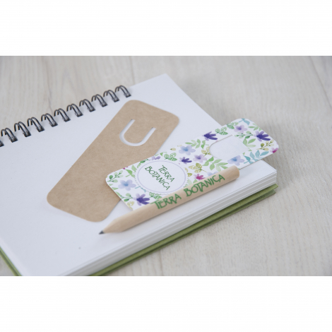 Kit marque-page vernis Incolore - 8,7 cm