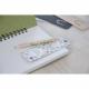 Kit marque-page crayon personnalisé vernis Incolore - 8,7 cm