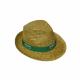 Chapeau en paille TIROLES personnalisable