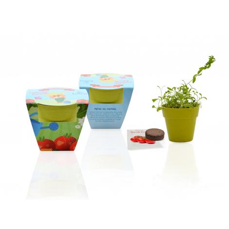 Kit de plantation pot biodégradable