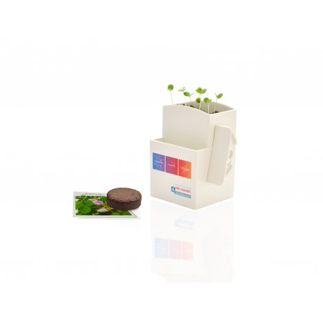 Kit de plantation publicitaire - Végétal Box