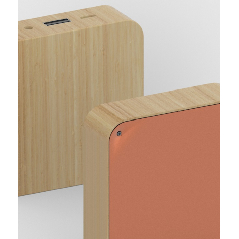 Powerbank carré BAMBOO SQUARE