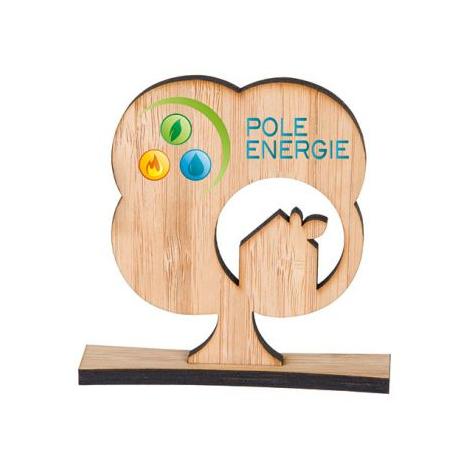 Trophée bambou personnalisable