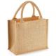 Petit sac en Jute avec fil doré