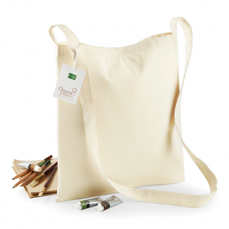 Sac shopping en coton bio 170 gr