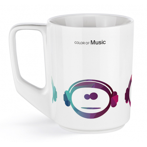 Mug promotionnel en céramique 250 ml - Pics Solid