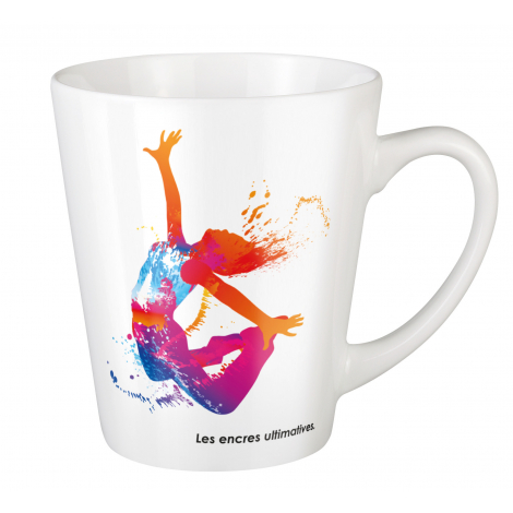 Mug promotionnel en céramique 330 ml - Pics Cosmos