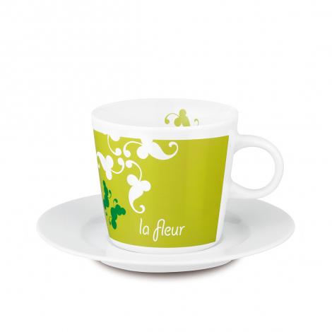 Café set avec tasse et soucoupe publicitaires 200 ml - Fancy