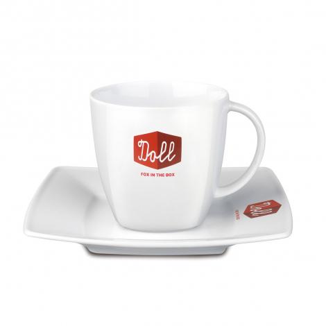 Tasse et soucoupe - Café set - Maxim