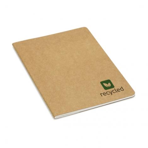Cahier publicitaire en carton recyclé