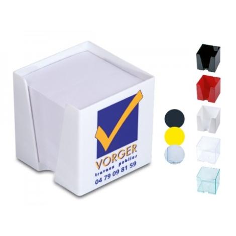 Support bloc papier en plastique