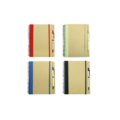 Cahier A5 en carton personnalisé Recikla