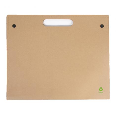 Porte-documents publicitaire carton recyclé Eco